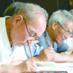 手写通知书 是传统文化课,也是大学精神教育课