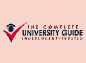 2018年CUG完全大学指南英国大学全专业排名