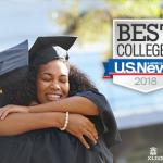 2018年USNews美国大学定量分析专业本科排名