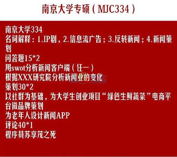 浙江大学2018专硕334新闻传播学考研真题