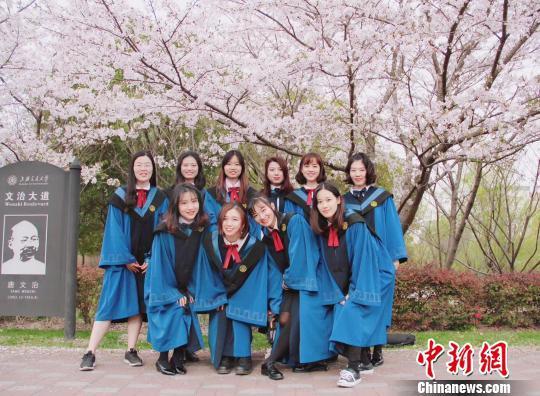上海交大2018年研究生毕业照。 供图
