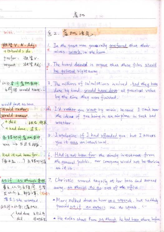 朱泰祺串讲班英语语法笔记一